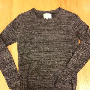 Sparkle metallic Andie sweater holiday ready